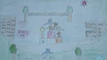 Tranh dự thi của Việt Hoàng,lớp 4H,Trường Tiểu học Dịch Vọng A(MS:367)