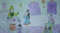Tranh dự thi của Tú Anh,lớp 4C,Trường Tiểu học Dịch Vọng A(MS:368)