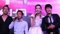 Hot clip: Cường Đô la lên sân khấu hát cùng Hồ Ngọc Hà