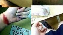 Sửng sốt các kiểu hâm mộ của fan cuồng: Kiểu 2 - viết thư bằng máu!