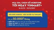VinMart+ phân phối sim và gói cước di động Mobifone