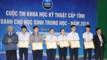 Quảng Ngãi tổ chức thi khoa học kỹ thuật dành cho học sinh trung học - năm 2018