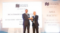 BAC A BANK nhận 2 giải thưởng quốc tế của IFM