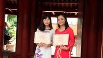 Hai sinh viên Khoa hóa Trường đại học Khoa học Thái Nguyên nhận học bổng Vallet