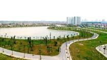 Hồ điều hòa – Lá phổi xanh trong lòng khu đô thị Thanh Hà Mường Thanh