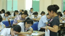 Học sinh tham dự kì thi quốc gia năm nay đang được thừa hưởng nhiều điều tốt đẹp