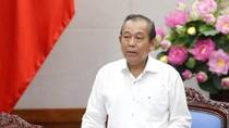 Phó Thủ tướng phê bình Ủy ban nhân dân Thành phố Hà Nội