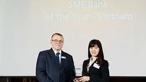 BIDV được vinh danh Ngân hàng SME tốt nhất Việt Nam