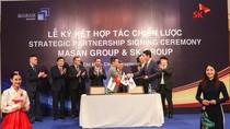 Đầu tư 470 triệu USD, SK Group là nhà đầu tư nước ngoài lớn nhất của Masan Group