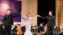 Pháo tay không ngớt trong đêm hòa nhạc mở màn của Dàn nhạc Giao hưởng Mặt Trời