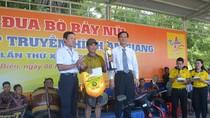 Cặp bò của ông Nguyễn Thành Tài đoạt hạng Nhất Hội đua bò Bảy Núi lần thứ 25