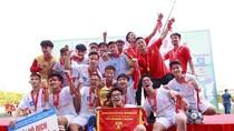 Trung học phổ thông Trương Định vô địch bóng đá học sinh trung học phổ thông