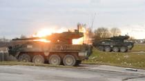 Xem xe tăng của quân đội Đức, Mỹ tập trận bắn đạn thật