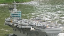 Những bộ xếp hình lego mô hình tàu sân bay cực chất