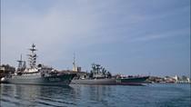 Video: Nga cử tàu đổ bộ hạng nặng tham gia tập trận quốc tế