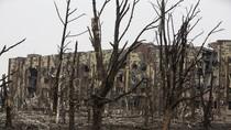 Sự tàn phá khó  tưởng tượng tại một sân bay chiến lược ở Ucraine