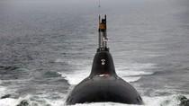 """Tàu ngầm hạt nhân tối tân Chakra của Ấn Độ """"quậy phá"""" trên biển"""