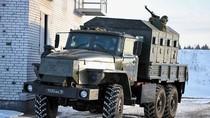 Đặc nhiệm Nga tập trận chiến thuật cùng xe bọc thép hạng nặng