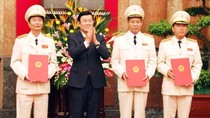 Thăng hàm Thượng tướng cho ba Thứ trưởng Bộ Công an