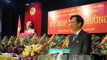 Tuyên Quang bầu Chủ tịch UBND tỉnh