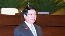 """Bộ trưởng Vũ Huy Hoàng """"lúng túng"""" vì Đại biểu Quốc hội hỏi nhiều câu khó"""
