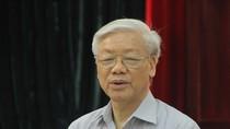 Tổng Bí thư Nguyễn Phú Trọng: 'Nhiều người nói thoải mái quá, nói bạt mạng'