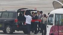 Bộ trưởng Phùng Quang Thanh đã về đến Hà Nội