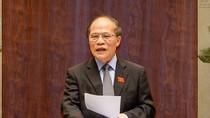 Ông Nguyễn Sinh Hùng được giới thiệu bầu chức Chủ tịch Hội đồng bầu cử Quốc gia