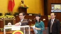 Quốc hội chính thức phê chuẩn 21 thành viên Chính phủ