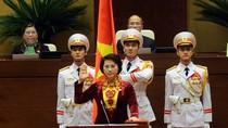 Chủ tịch nước, Chủ tịch Quốc hội, Thủ tướng tiếp tục tuyên thệ nhậm chức