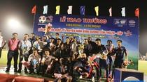 B.Bình Dương vô địch Cúp Number 1 lần thứ 18