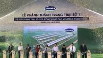 Trang trại bò sữa công nghệ cao Vinamilk Thanh Hóa chính thức đi vào hoạt động