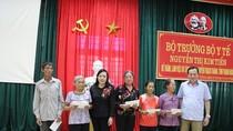 Bộ trưởng Y tế kiểm tra công tác khắc phục hậu quả lũ lụt tại Thanh Hóa
