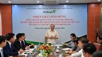 Thường trực Ban Bí thư thăm và làm việc tại Vietcombank Lào