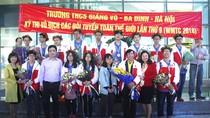 13 học sinh trường Giảng Võ đoạt huy chương kỳ thi Vô địch toán thế giới