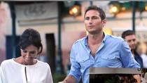 Du hí cùng bạn gái, Lampard không quên dõi theo tuyển Anh