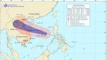 Từ chiều nay, bão cấp 10 sẽ đổ bộ vào Việt Nam