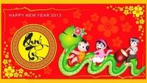 Những tấm thiệp độc đáo nhất chúc mừng năm mới 2013