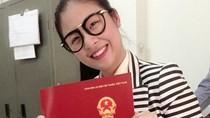 Hoa hậu Ngọc Hân khoe bằng tốt nghiệp đại học sau 7 năm đèn sách