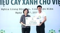 """Vinamilk mang """"1 triệu cây xanh cho Việt Nam"""" đến Điện Biên"""