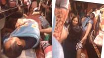 Hình ảnh kinh hoàng trong những chuyến xe hành xác chỉ có ở VN (P2)