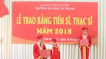 Đại học sư phạm Thái Nguyên công nhận tốt nghiệp cho 408 thạc sĩ, tiến sĩ