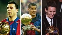 Messi và 9 Quả bóng Vàng của Barcelona