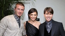 Tom Cruise cấm Katie Holmes qua lại với nhà Beckham