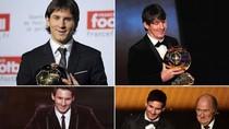 Barca vô địch thế giới về số lượng Quả Bóng Vàng