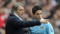 Mancini dọa đấm Nasri, Nasri phản kích
