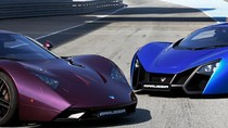 Cặp xe đua song sinh Marussia B1 và B2 khoe vẻ đẹp bóng bẩy