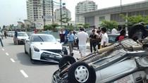 Xe thể thao Nissan GT-R gặp tai nạn kinh hoàng vì xe 'cỏ'