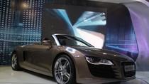 Audi R8 Spyder: Xế khủng 'hot' nhất Việt Nam Motor Show 2012
