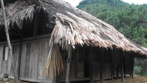 Cảnh nghèo của lớp học lưng trời tại Hà Giang
